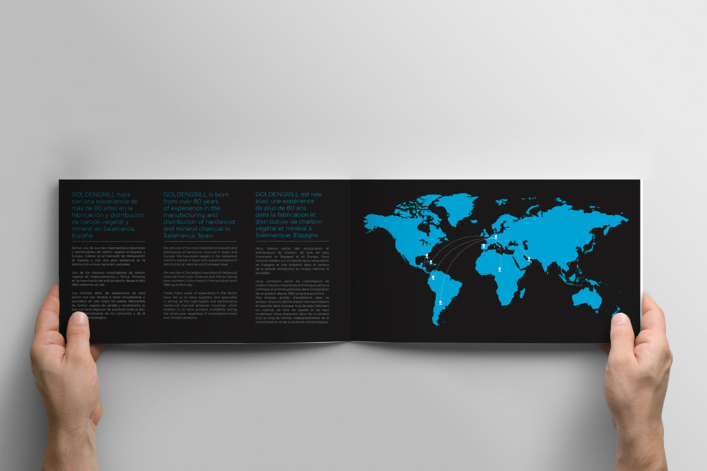 Diseño catálogo corporativo